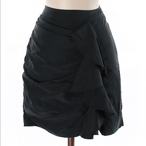 H&M ruffled pencil skirt